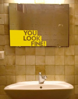 bathroom-you-look-fine-golden