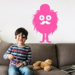 kidbedroom-little-monster-pink